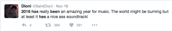At least one fan sees the positive aspects and praised the innovative soundtrack which augmented the tension.