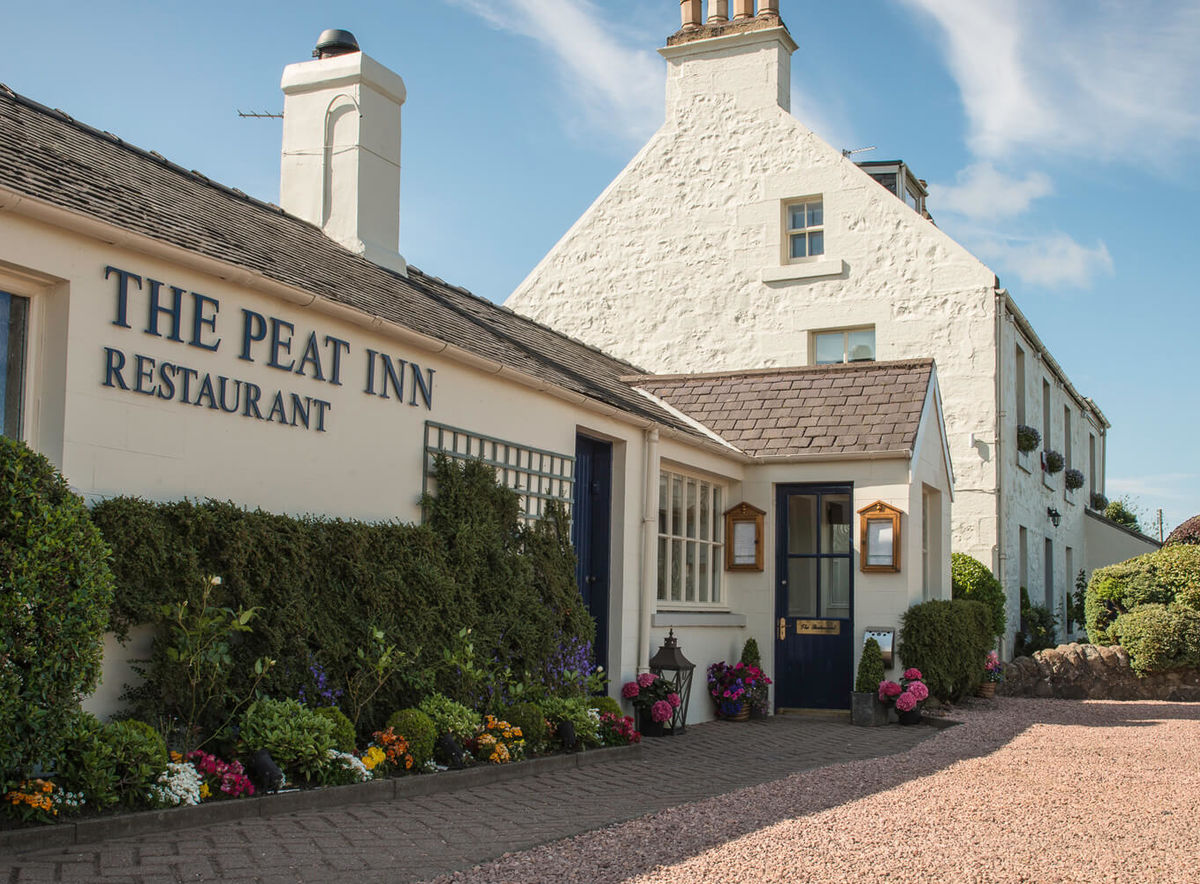 The Peat Inn, which boasts Michelin star wining and dining, is worried about being associated with the new presidential administration.