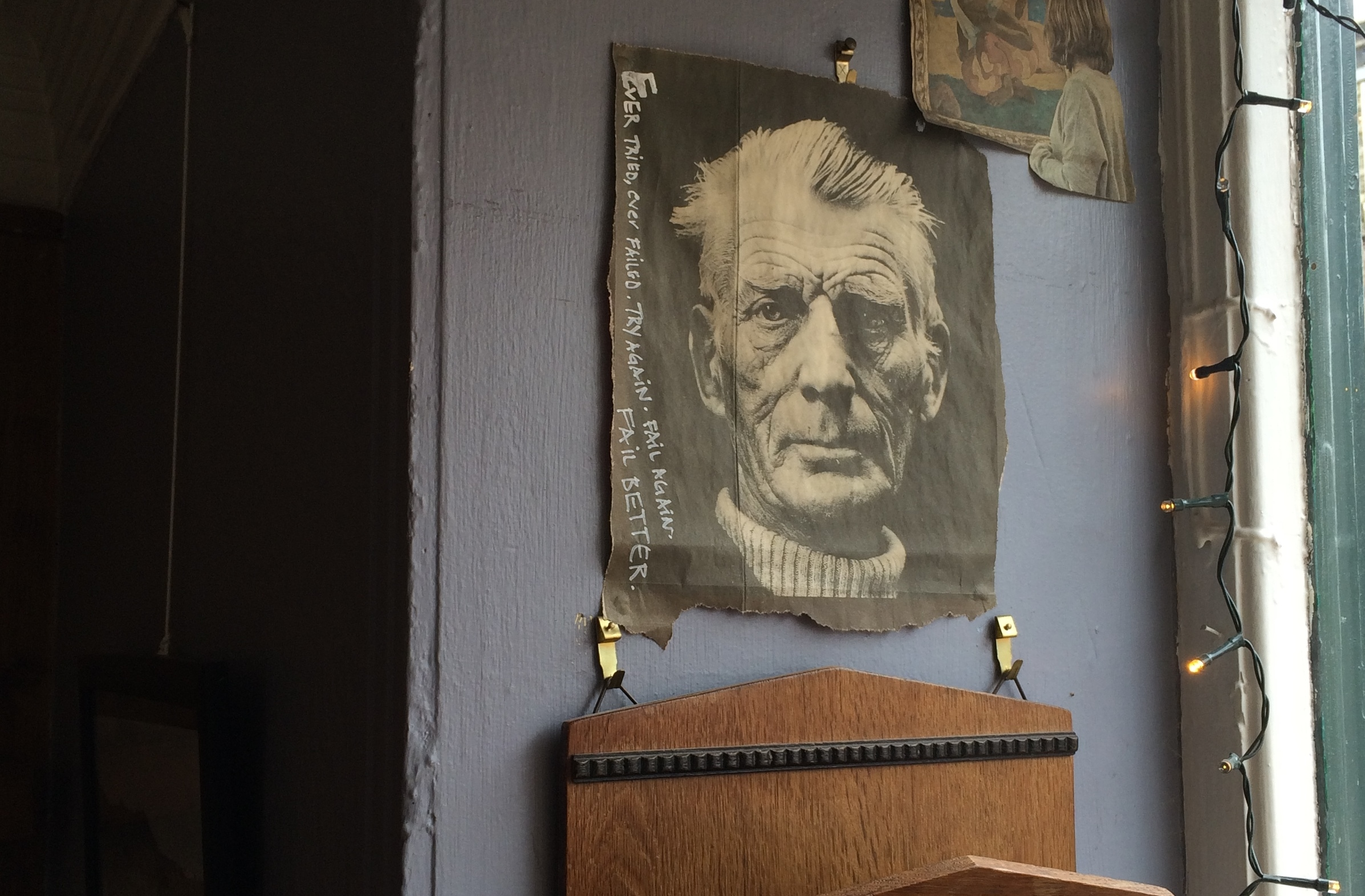 Beckett, the Colonel Sanders of the St. Andrews coffee scene, opened the business in 1980 whilst alive