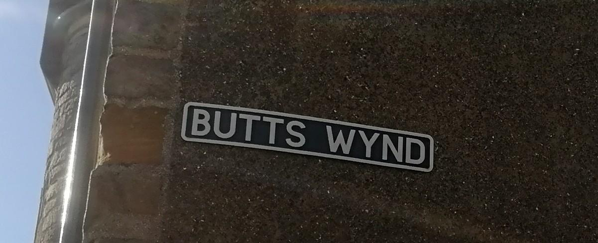 Townsfolk will be tormented by Butts Wynd no longer