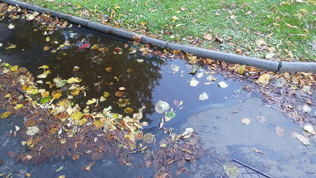 Many public paths were impassable due to flooding