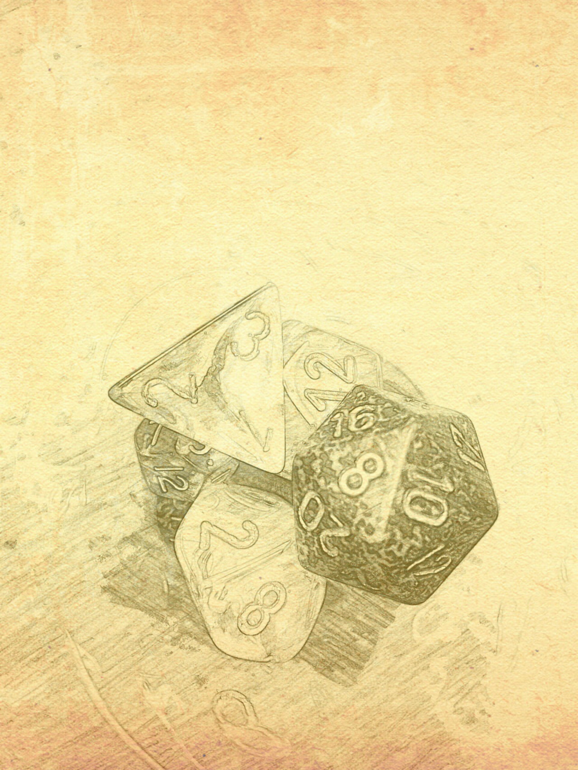 Yes, I only have pictures of dice at the moment. I'm working on it.