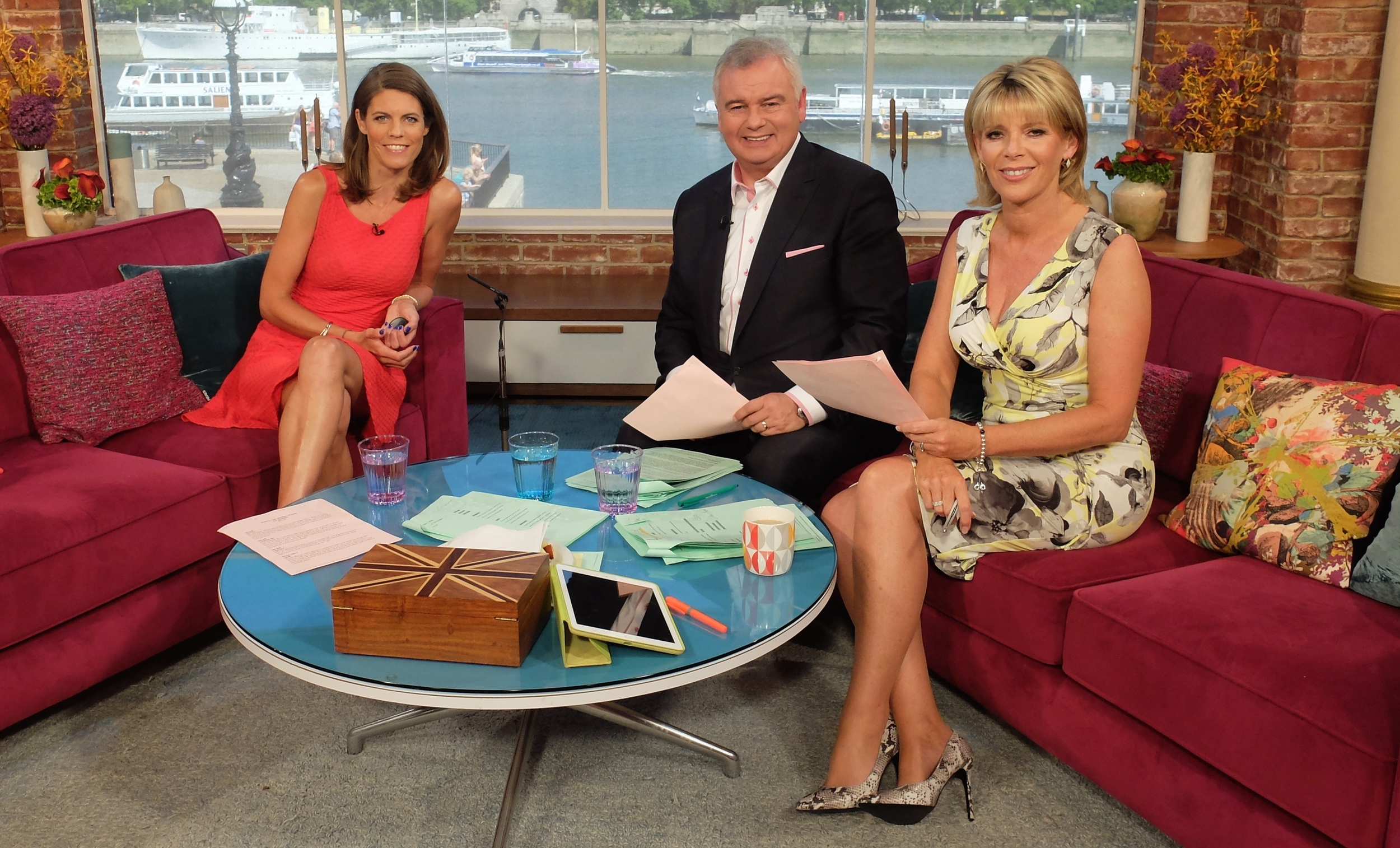 ON ITV'S 'THIS MORNING'
