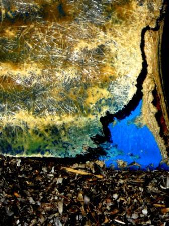 Crack Over Blue