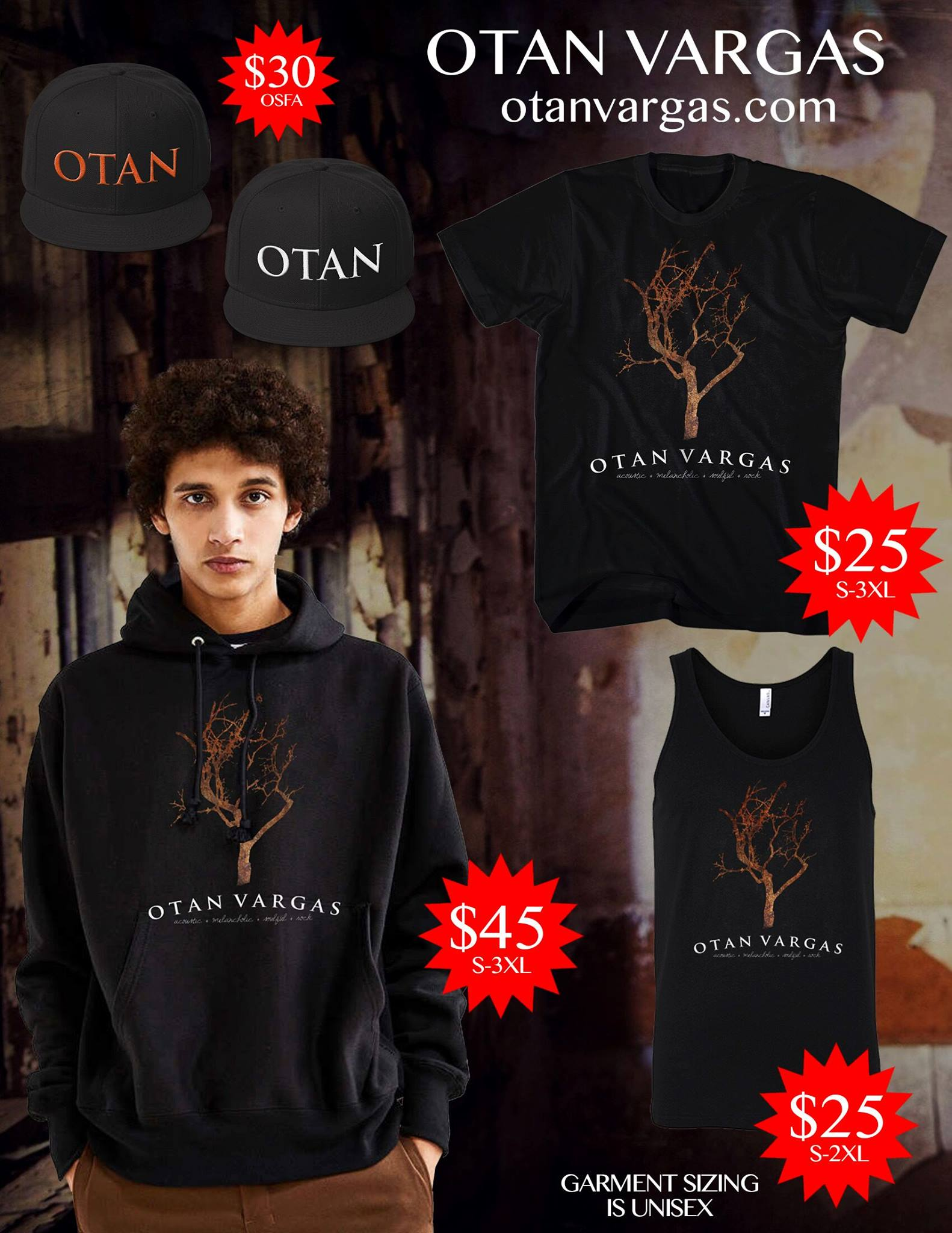 OTAN VARGAS MERCH - Hoodies, T-Shirts, Tank Tops and more.