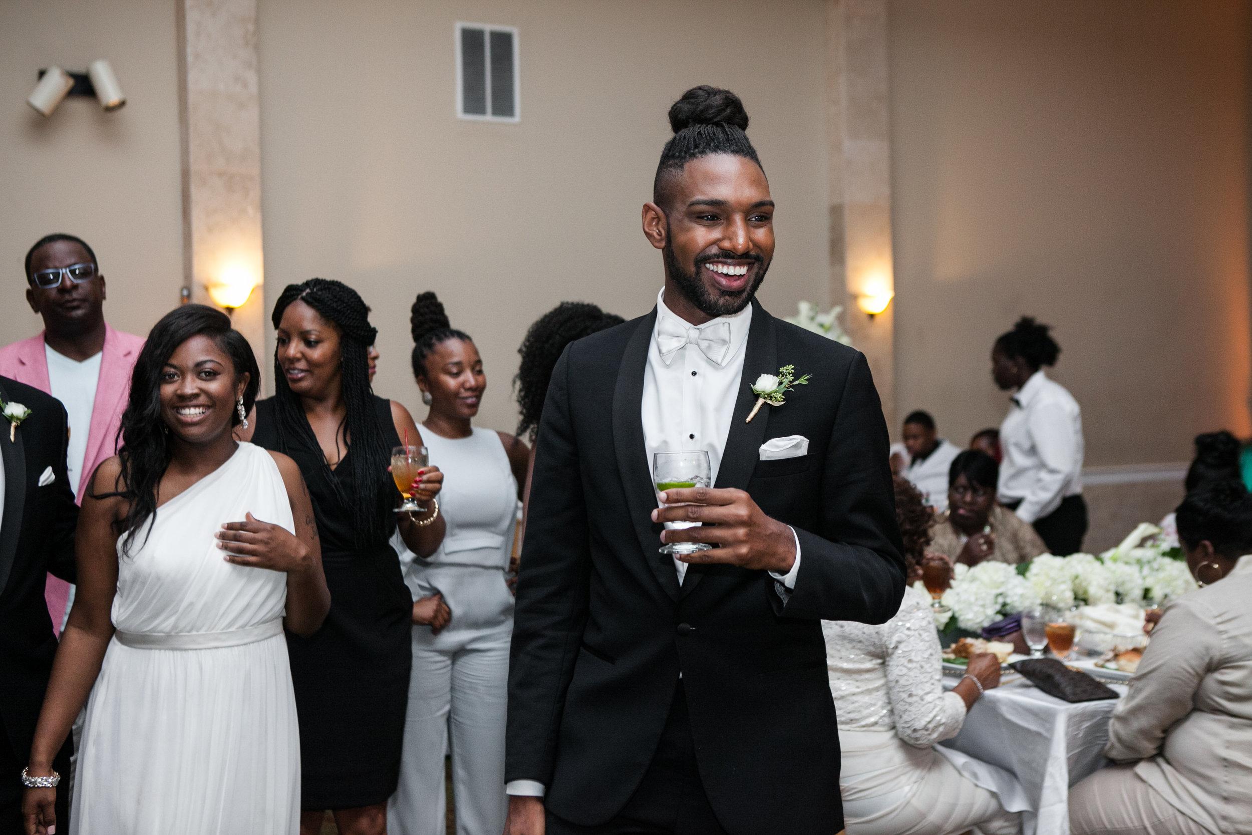 Image from  Derrick & Joel's Wedding , Courtesy of  Knight Weddings