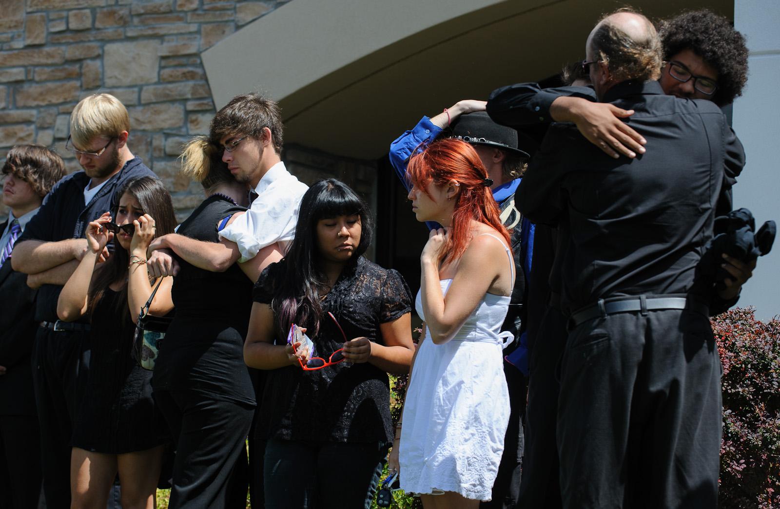 Aurora shooting victim A.J. Boik funeralRead more: http://www.n
