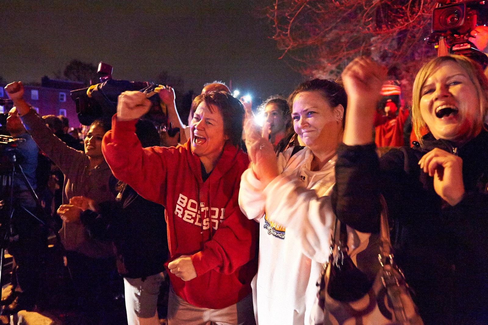 Hunt for Boston Marathon suspects in Watertown