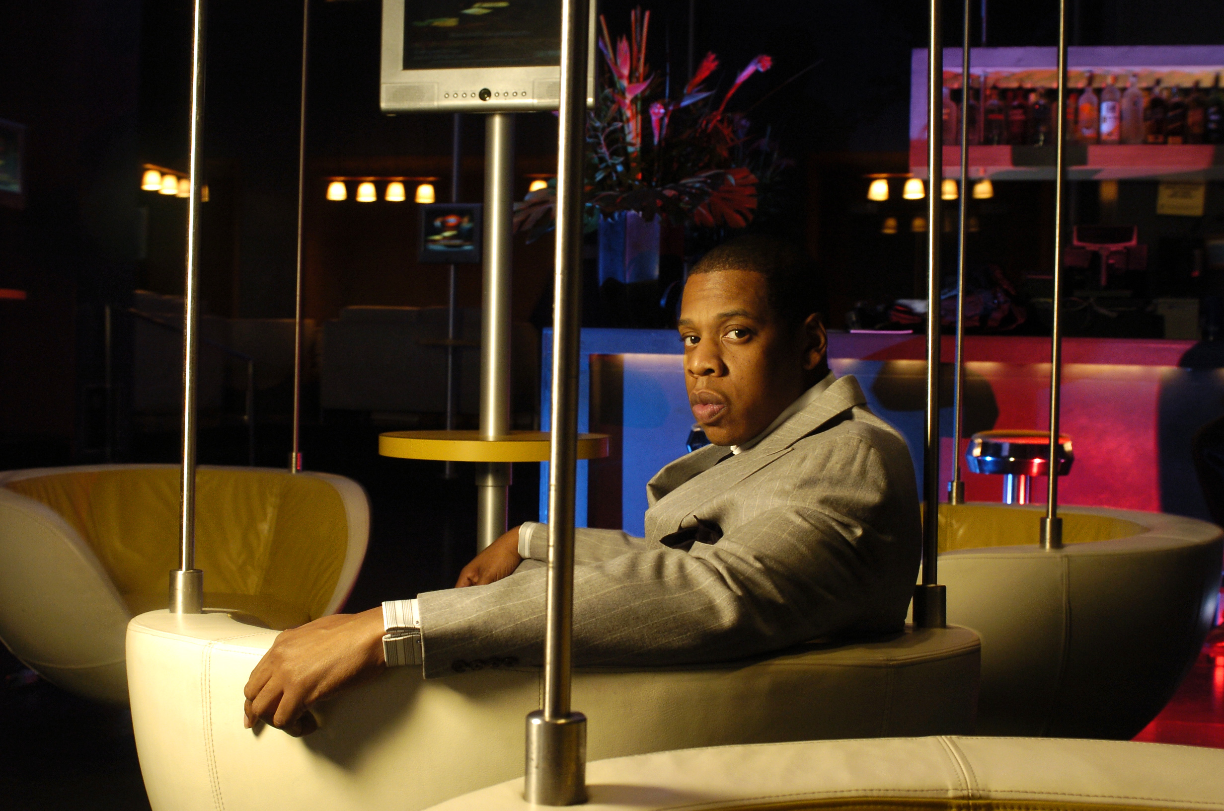 Jay-Z at 40/40 Club
