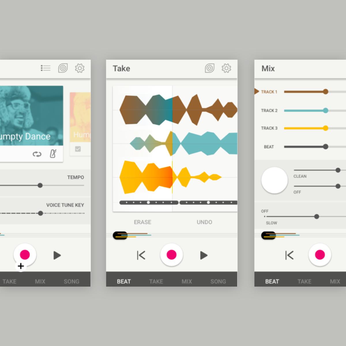 allihoopa music app concept -