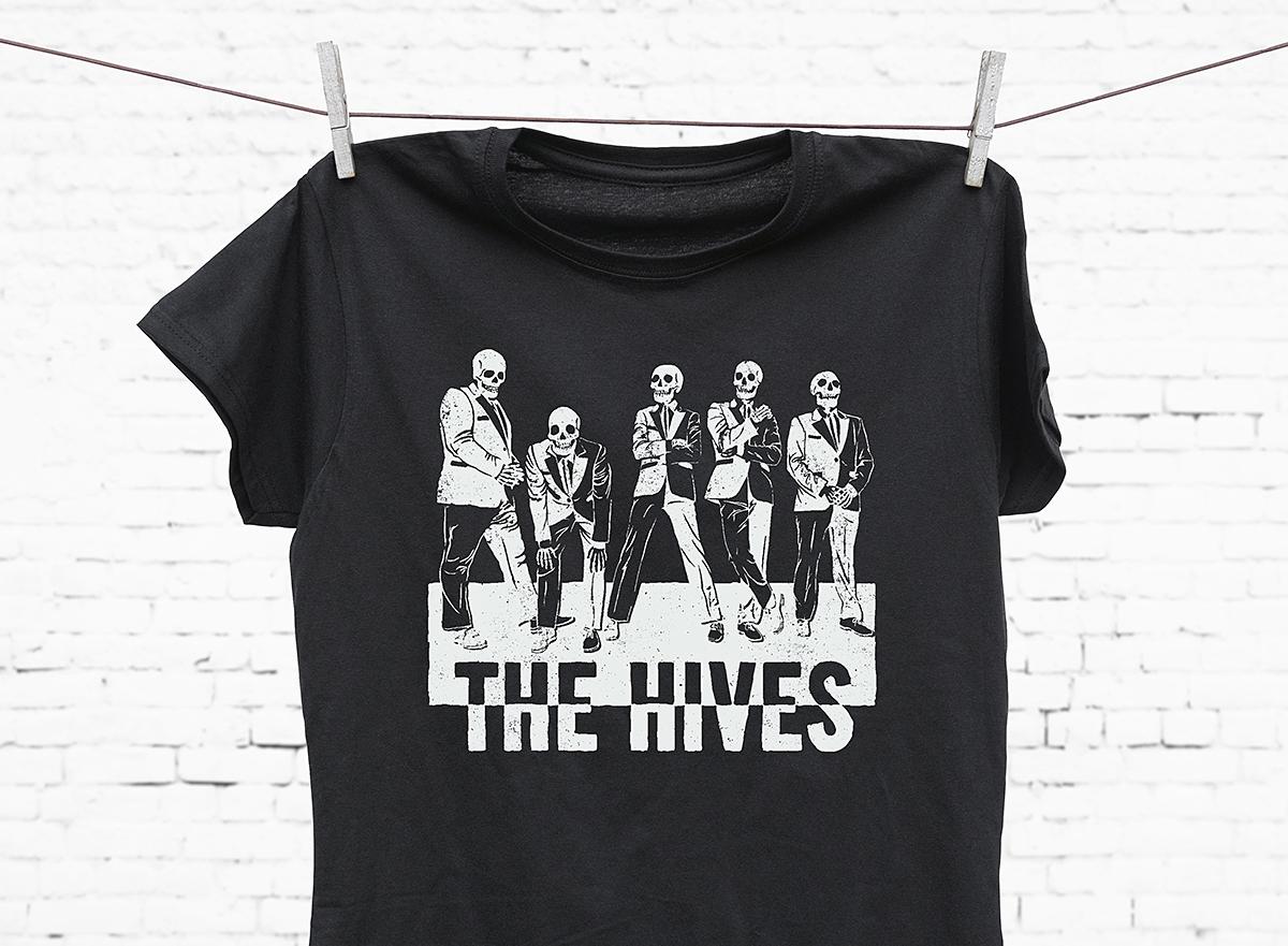the hives tshirt -