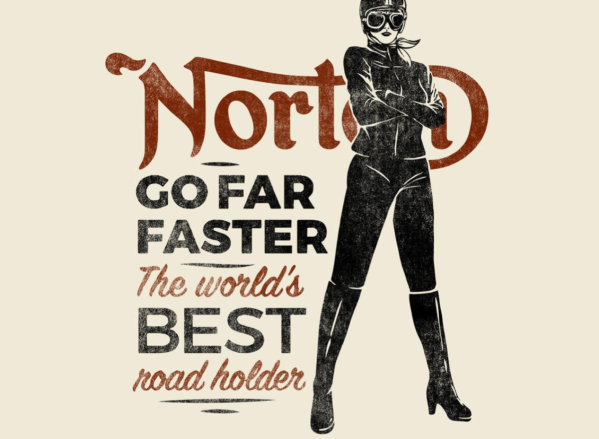 norton clothing tshirt series -
