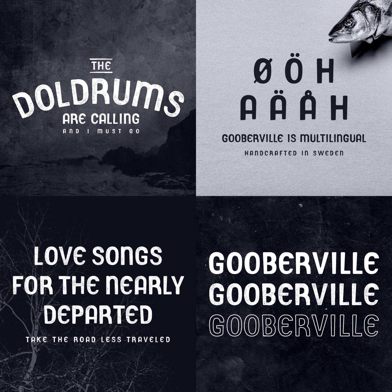 gooberville font buy -