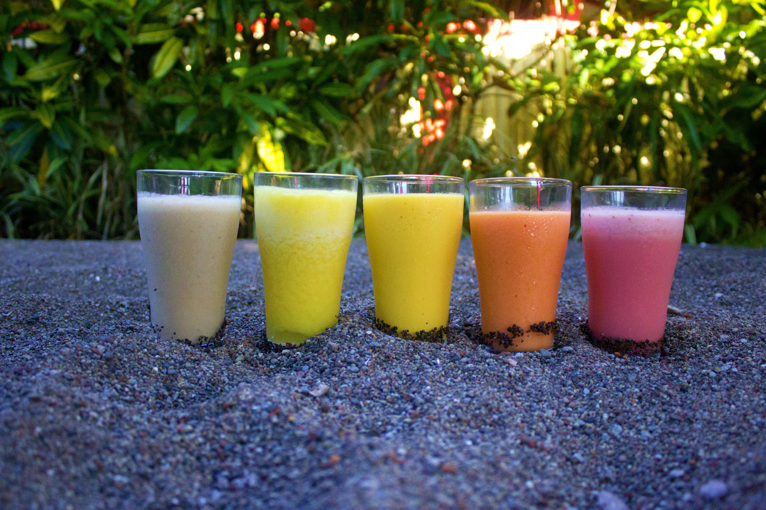 Seasonal Fruit Smoothies and Lassis