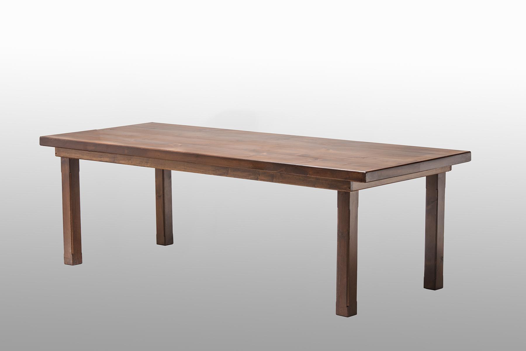 Dark Farm Table
