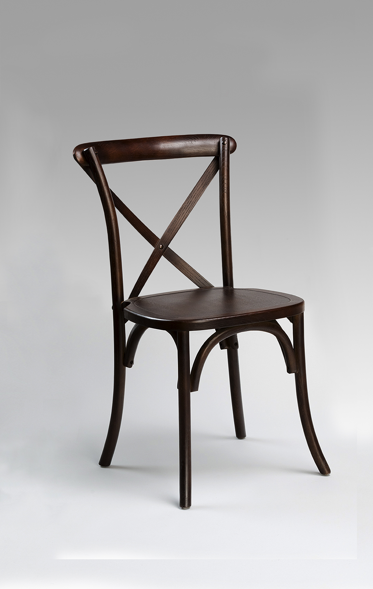 dark crossback chair