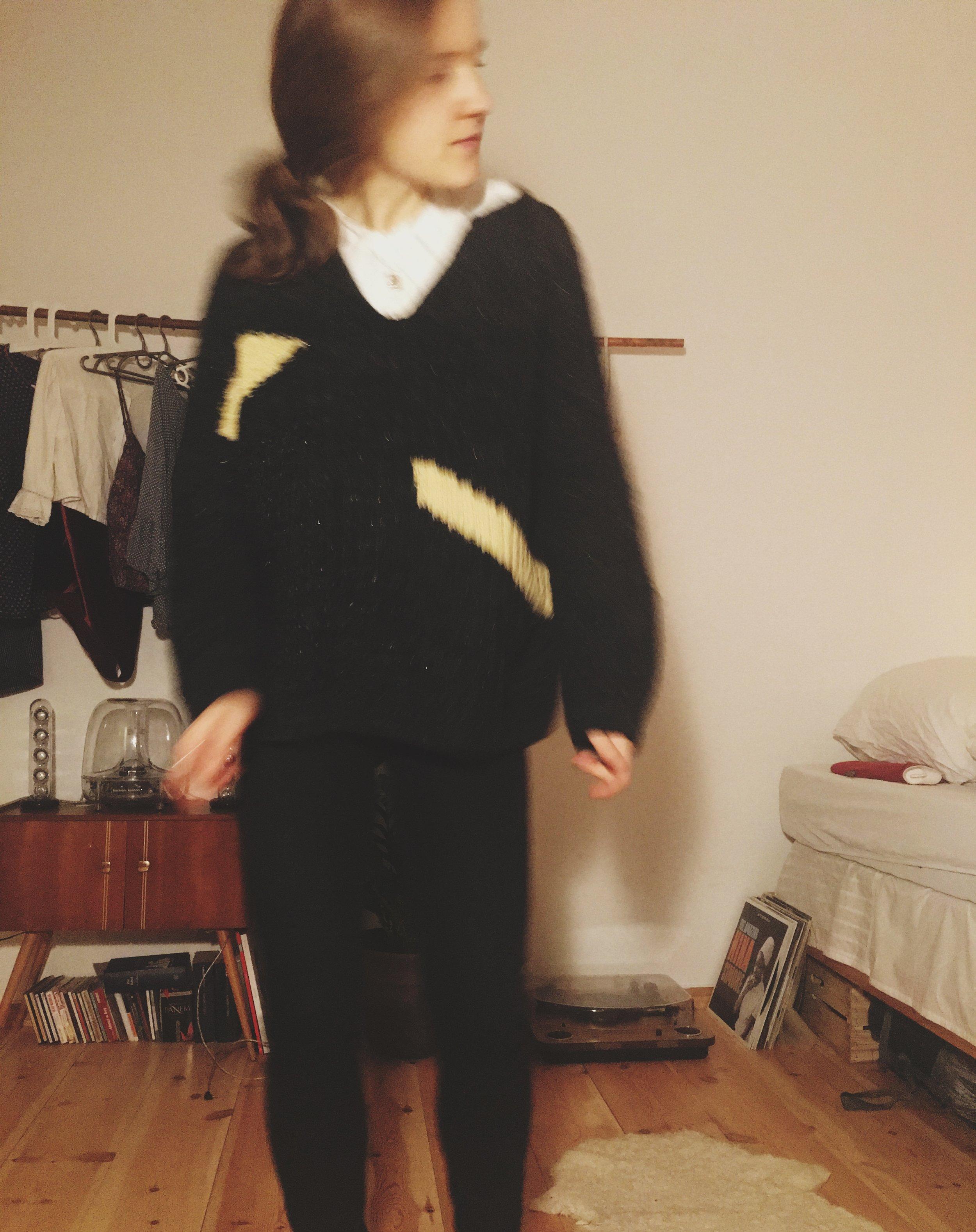 ich: tanzend