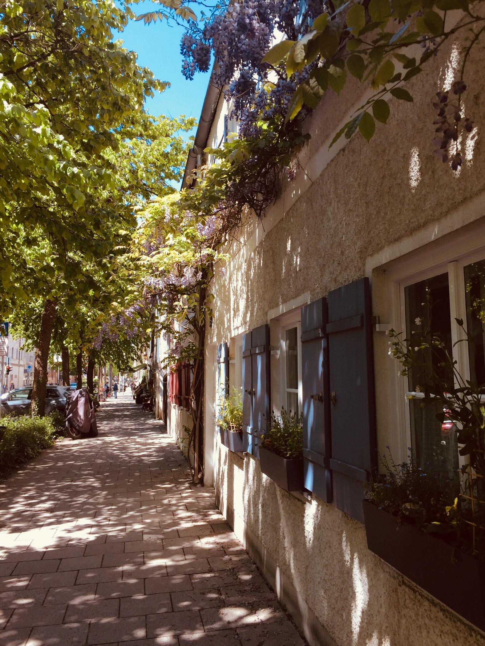 In diesen Straßen bin ich aufgewachsen und wohne trotzdem gerne in Berlin.