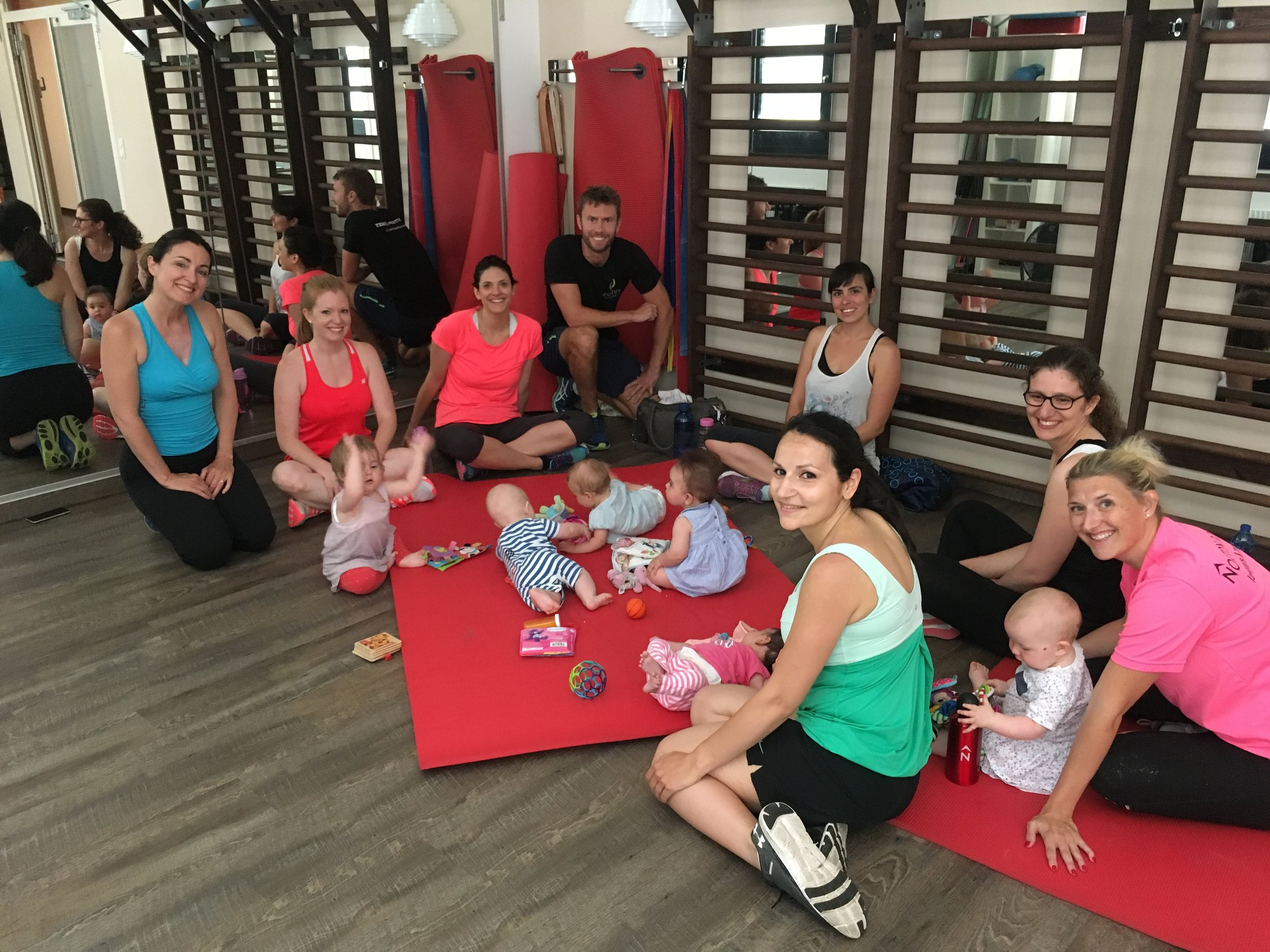 "The ""Mum's & Babies"" Fitness class at Evolve Fitness"