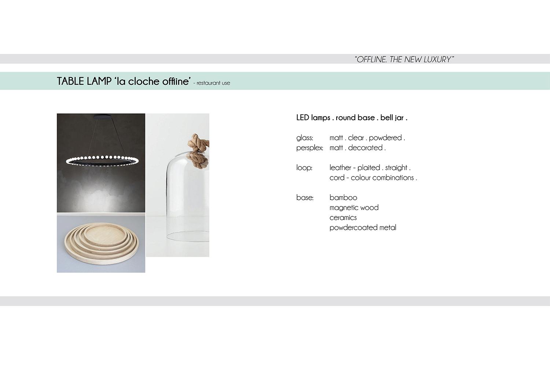 Inspiration for La Cloche - the offline lamp.