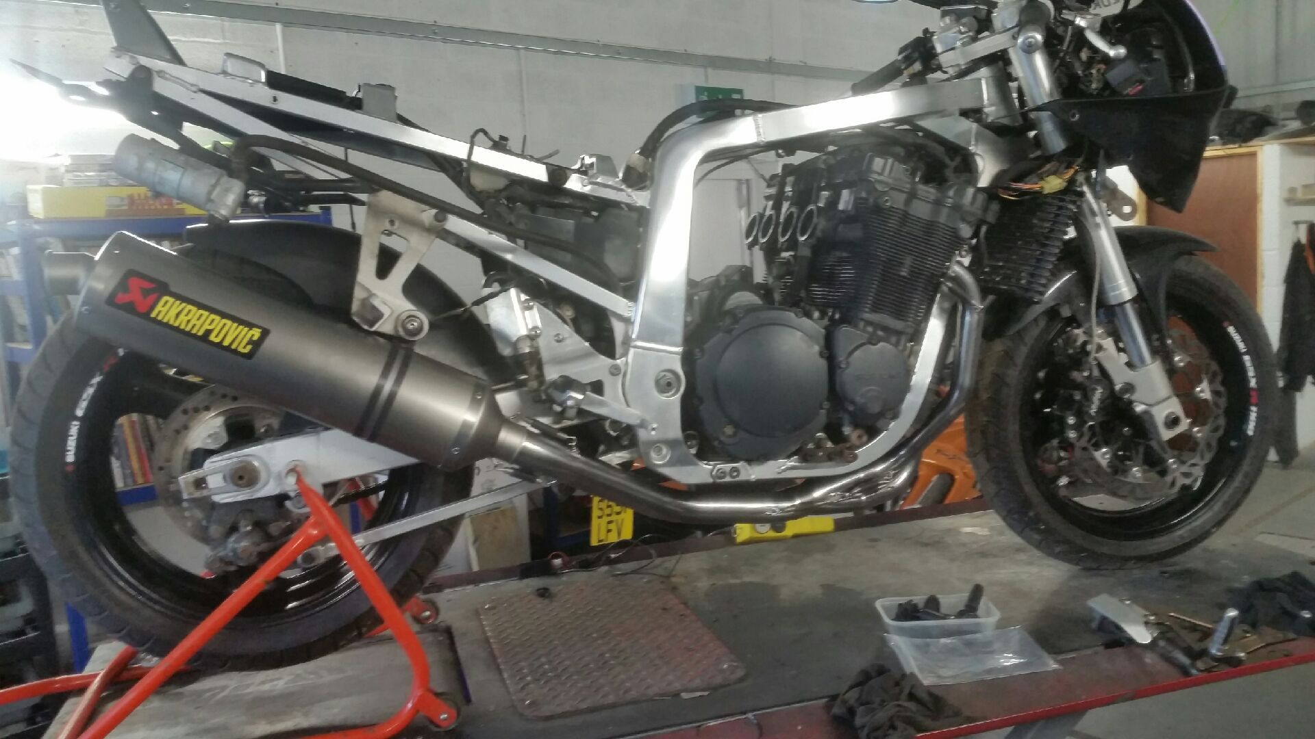GSXR 1100M with new pipe.jpeg