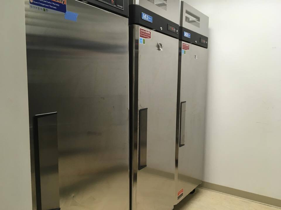 UPGRADES TO THE CBS KITCHEN - NEW REFRIGERATORS AND FREEZERS
