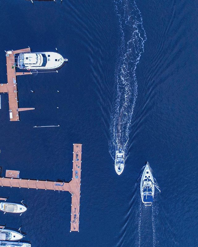 //010  #perspective #dronestagram #water #dji #forkedriver #boats #p4p #phantom4pro #photography #drone #instalike #dock