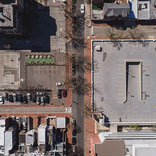 //005 #djiphantom4pro #drone #buildings #philly #photography #streets #dji #perspective #views