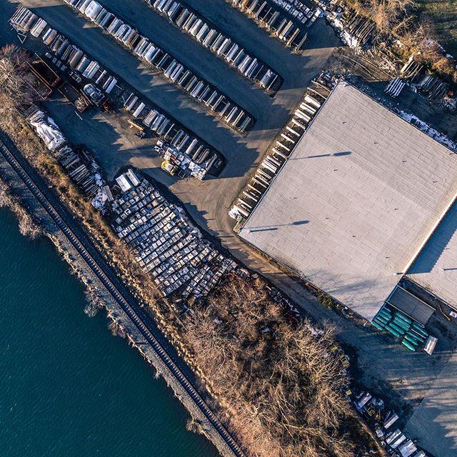 //001 #photography #drone #water #lake #dji #djiphantom4pro #industrial