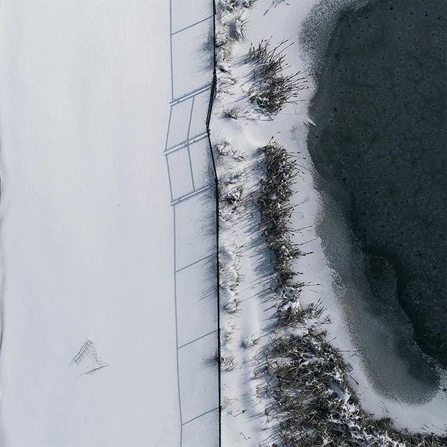 //000 #photography #p4p #phantom4pro #snow #drones #frozen