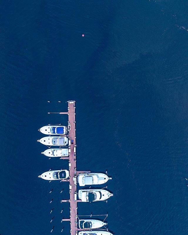 //008  #phantom4pro #p4p #boating #ocean #water #perspective #dji #forkedriver #dronestagram