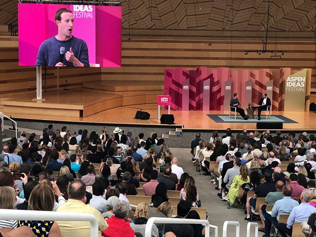 This week our CEO attended the Aspen Ideas Festival which showcased keynote speakers such as Mark Zuckerberg! She learned so much helpful information and we can't wait to start brainstorming new ideas for Born To Be 🤩 . . . #womeninbusiness #aspenideas #aspenideasfestival #entrepreneur #startup #innovative #girlboss #girlpower #kidsclothes #borntobeapparel