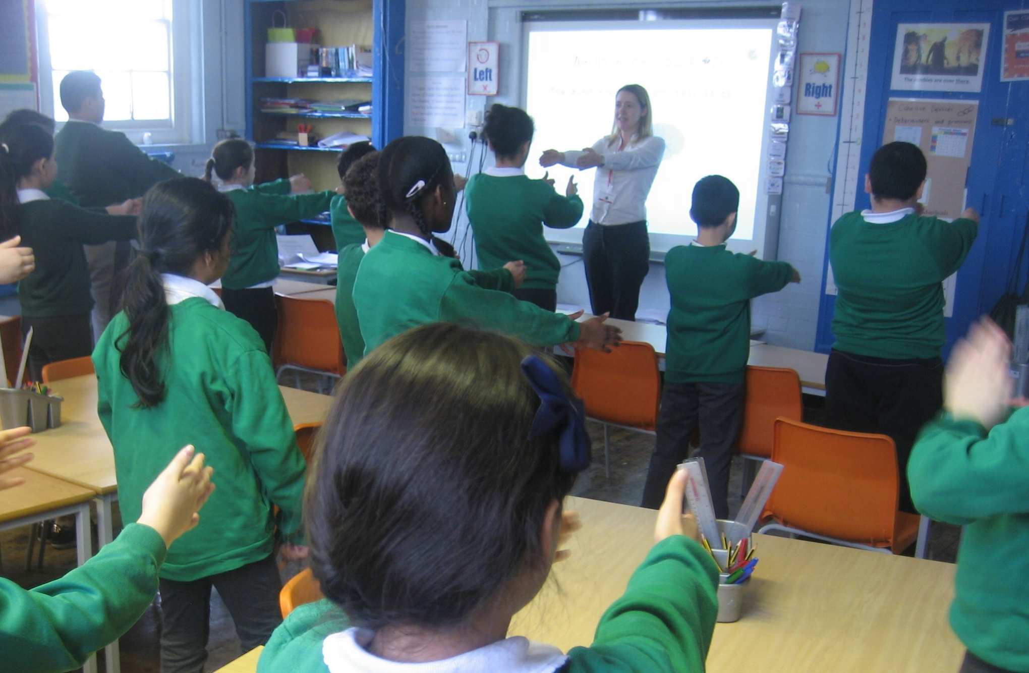 Motivational workshop for Haringey Primary School Year 6 students - how to use the mind for exam success.