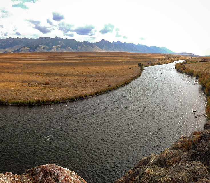 The Madison River in Ennis, MT