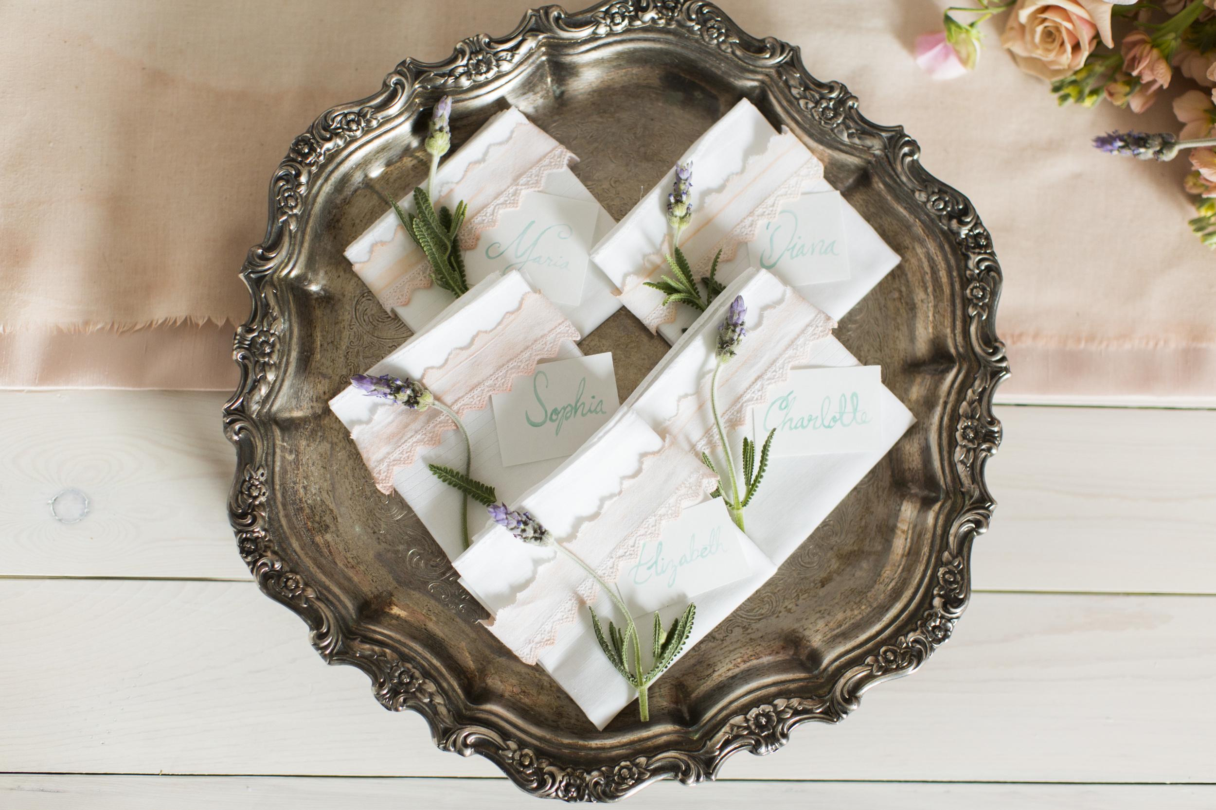 Monet Inspired Wedding Details | Michelle Leo Events