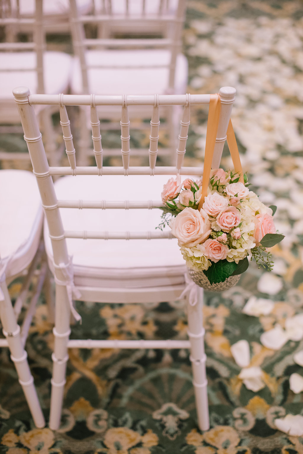 Blush Garden Style Wedding at The Grand America | Michelle Leo Events | Heather Nan Photography