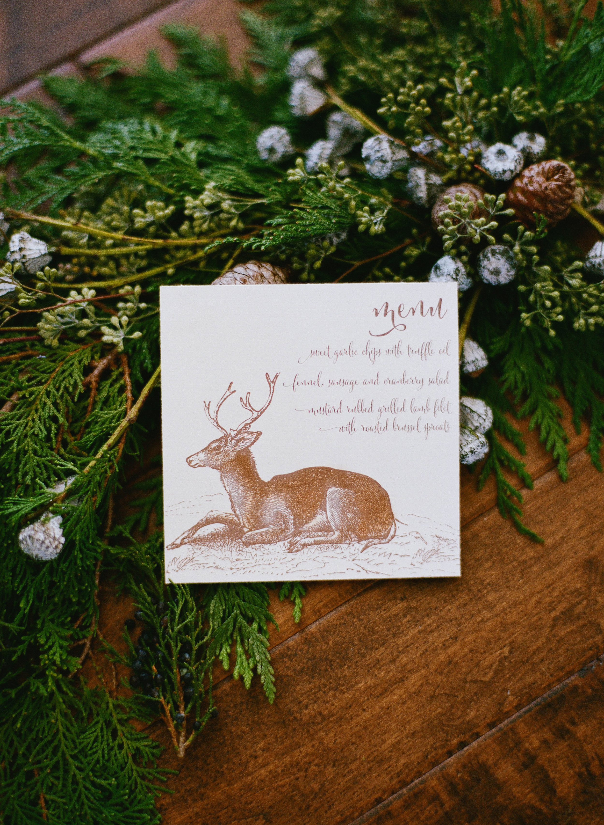 Rustic Winter Wedding Inspiration | Jacque Lynn Photography | Utah Wedding Planning and Design by Michelle Leo Events