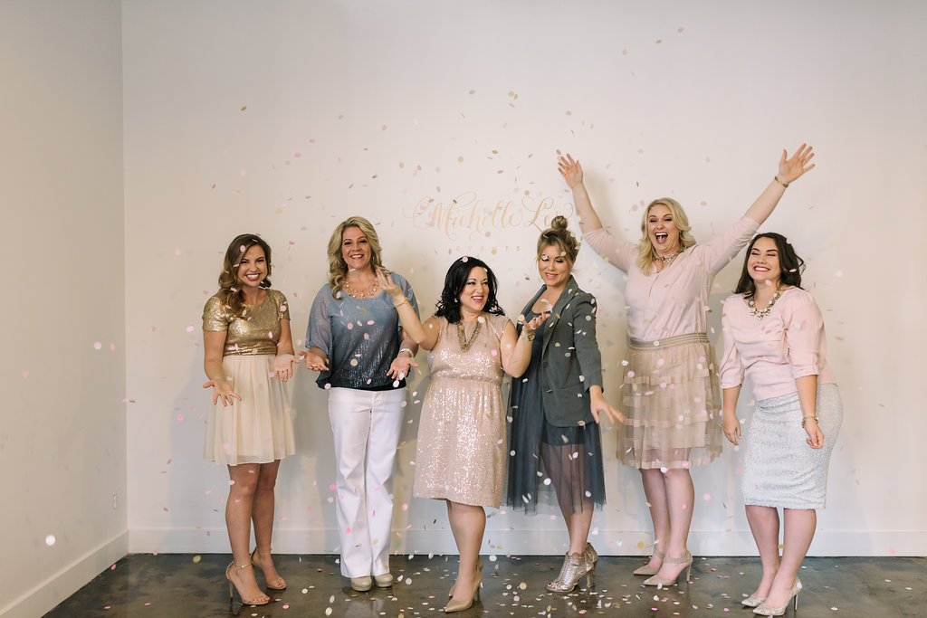 New Year's Eve Launch of The MLE Team | Michelle Leo Events | Utah Wedding Design and Planning