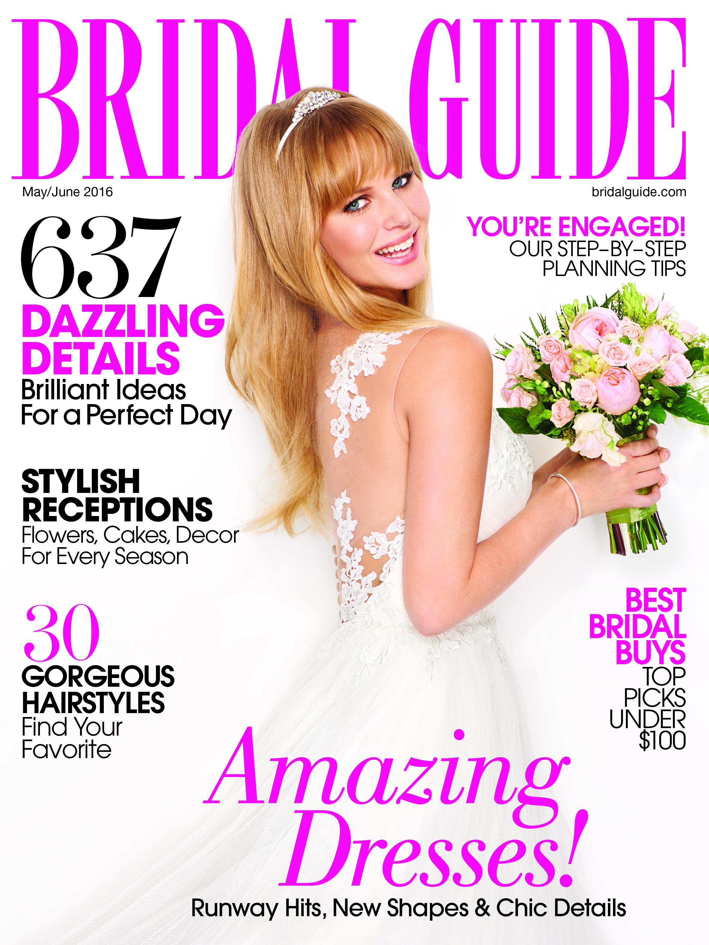 Bridal Guide Magazine   Michelle Leo Events   Seasonal Wedding Details   Spring Wedding   Utah Event Planner and Designer