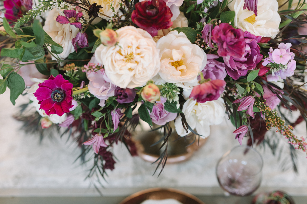 Plum and Copper Wedding Inspiration | Fall Wedding Inspiration | Toile Wedding Design | Michelle Leo Events | Utah Event Planner and Designer | Jessie Alexis Photography