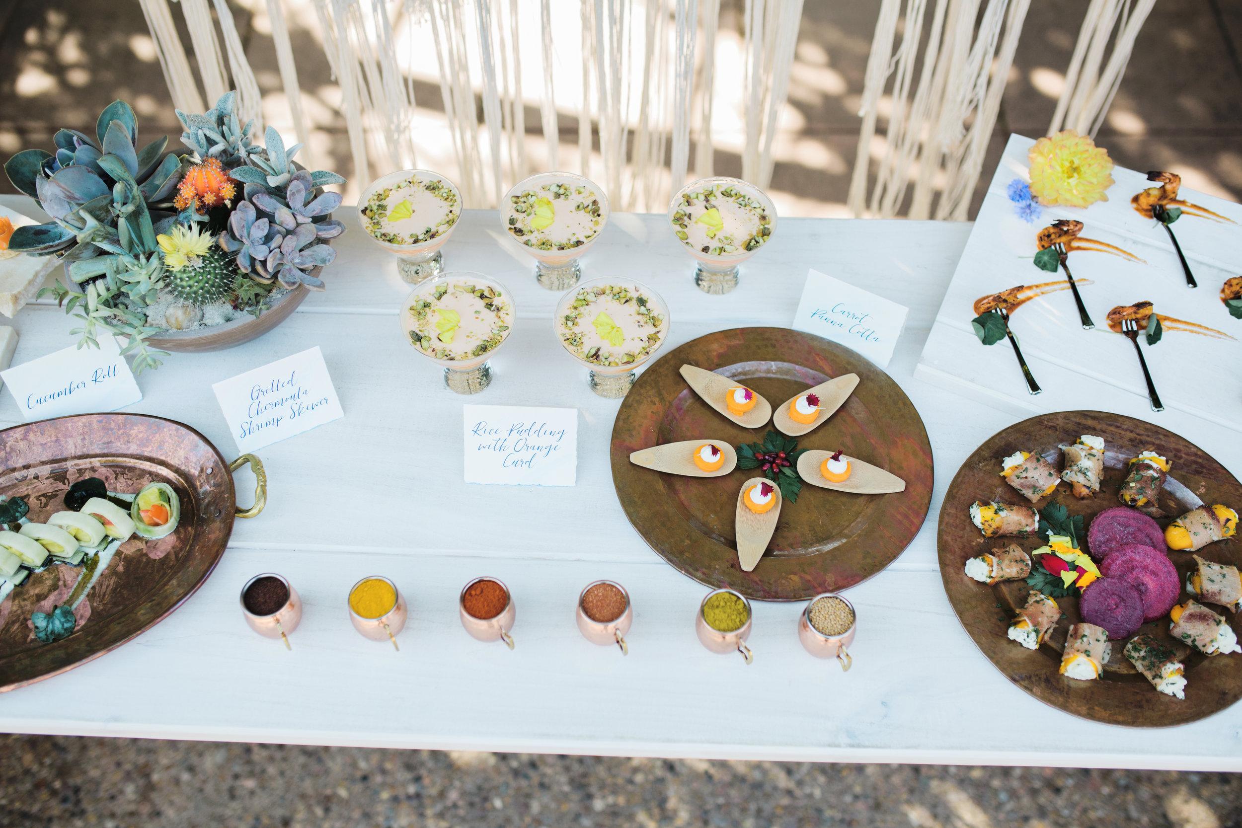 Bohemian-Desert Inspired Bridal Brunch Bites | Rocky Mountain Bride Magazine | Boho Wedding Inspiration | Michelle Leo Events | Utah Event Planner and Designer | Alixann Loosle Photography