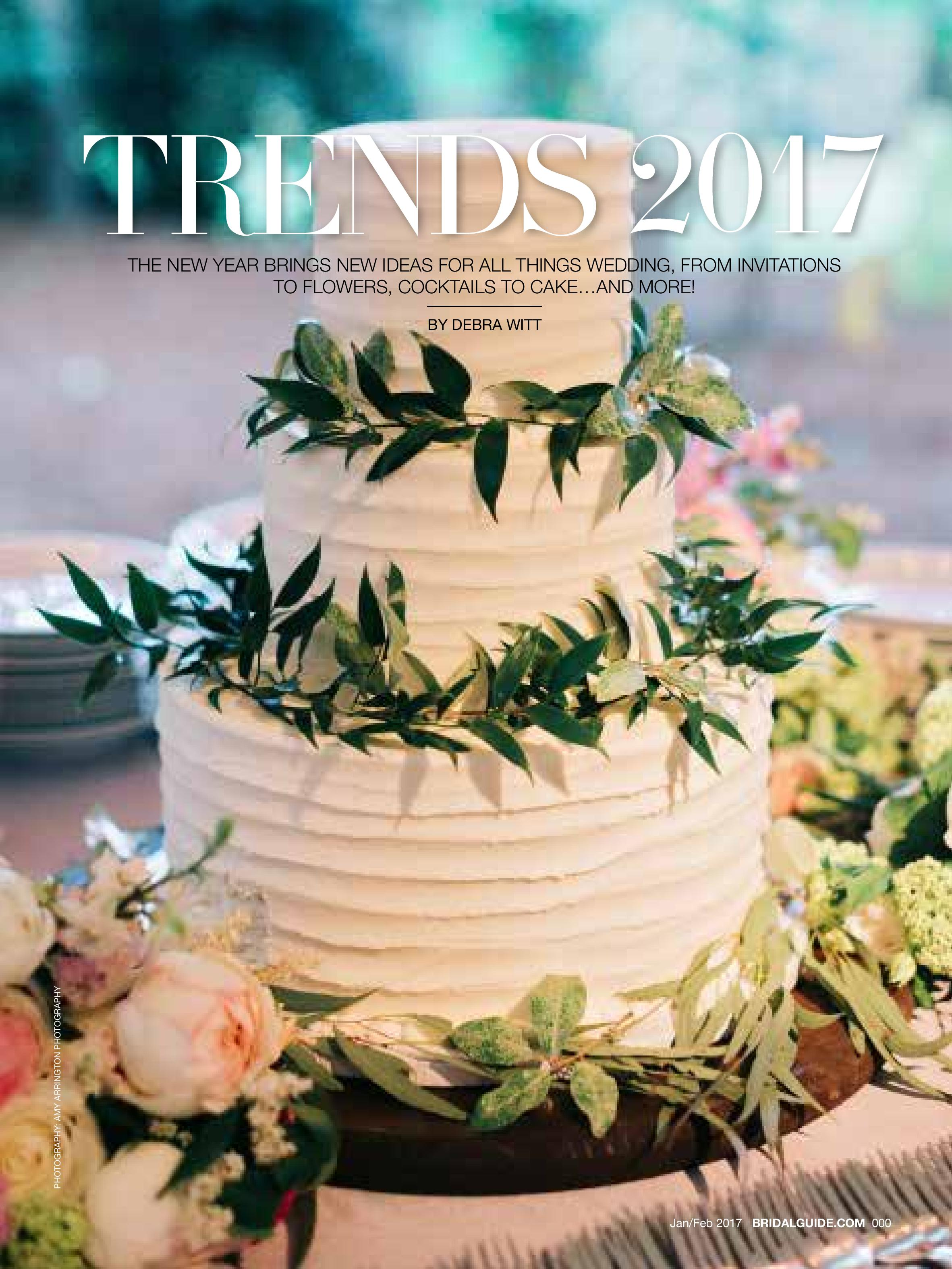 2017 Wedding Trends | Bridal Guide Magazine | Michelle Leo Events | Utah Event Planner and Designer