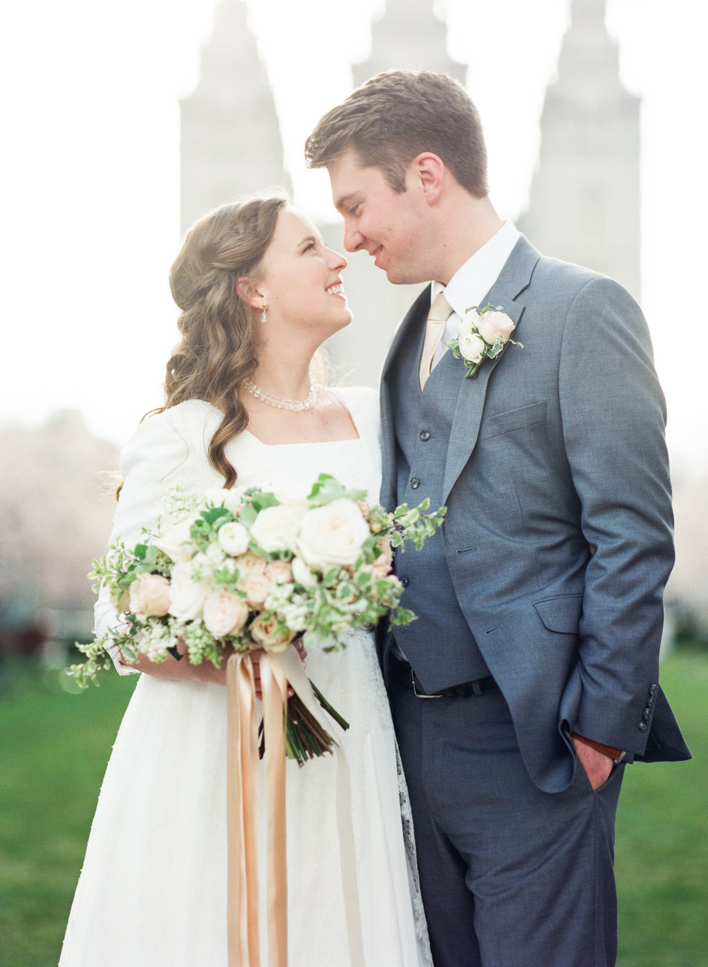 Spring Wedding at The Grand America | Blush Wedding | Hotel Wedding | Michelle Leo Events | Utah Event Planner and Designer | Heather Nan Photography