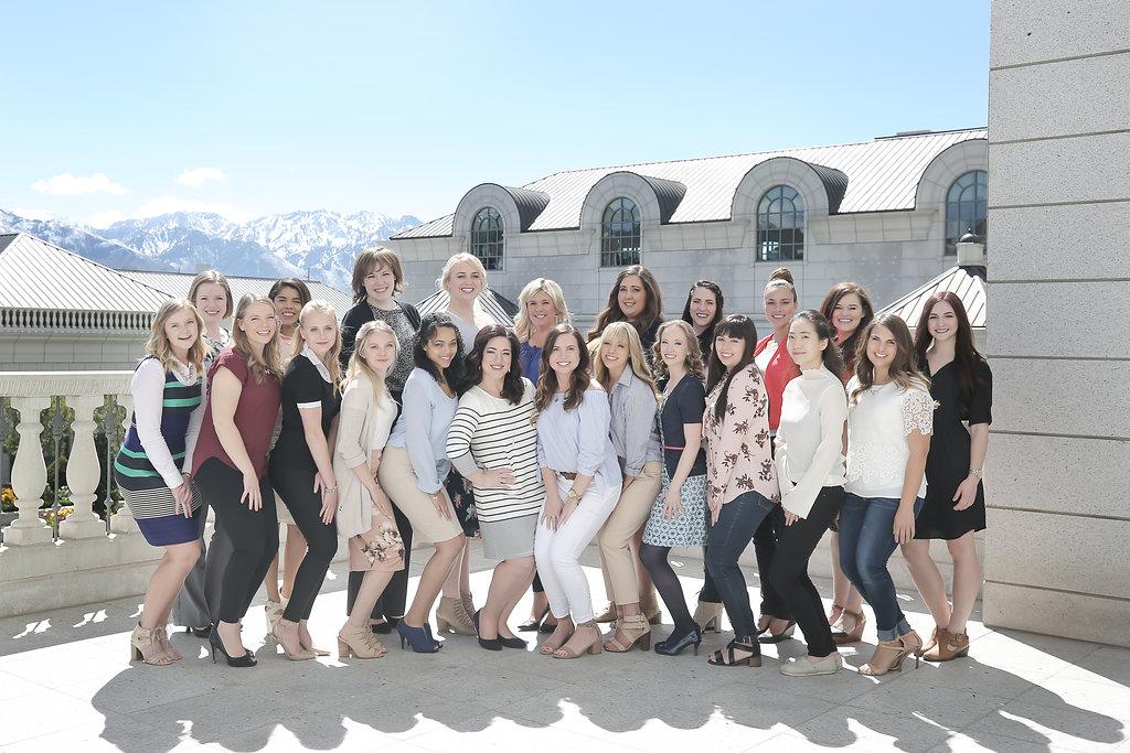 MLE's 2017 Intern Team   Event Planning Internship   Michelle Leo Events   Utah Event Planner and Designer