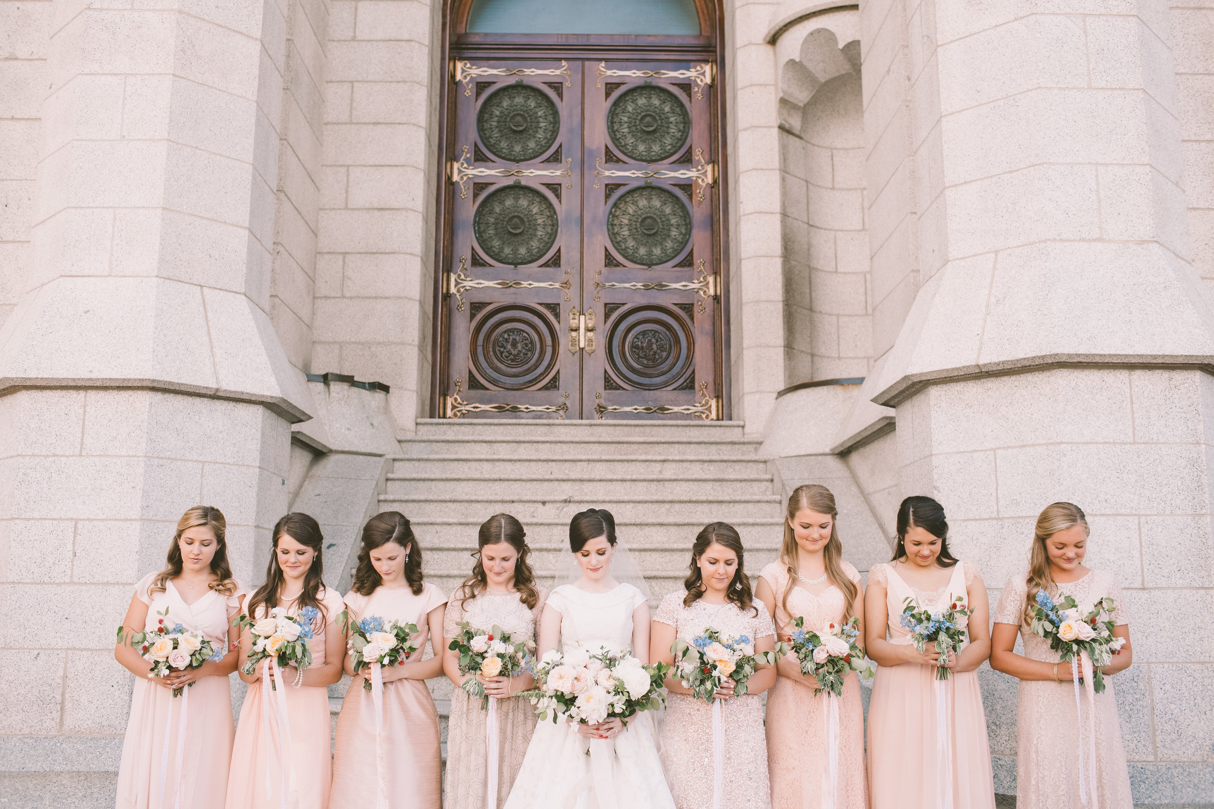 Utah State Capitol Wedding | Colorful Summer Wedding | Michelle Leo Events | Utah Event Planner and Designer | Jessica Janae Photography