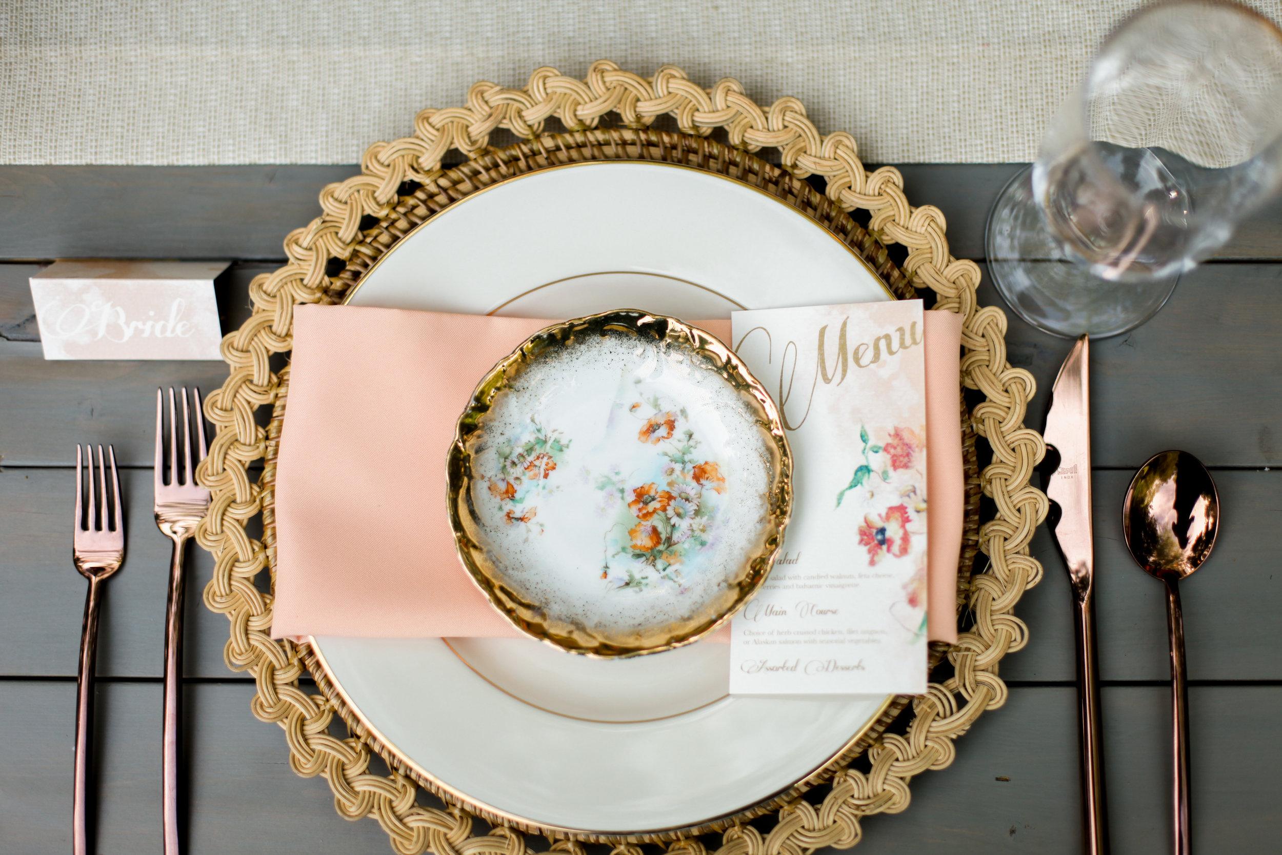 English Garden Wedding Inspiration | Garden Style Wedding | Summer Wedding | Backyard Wedding | Michelle Leo Events | Jacque Lynn Photography