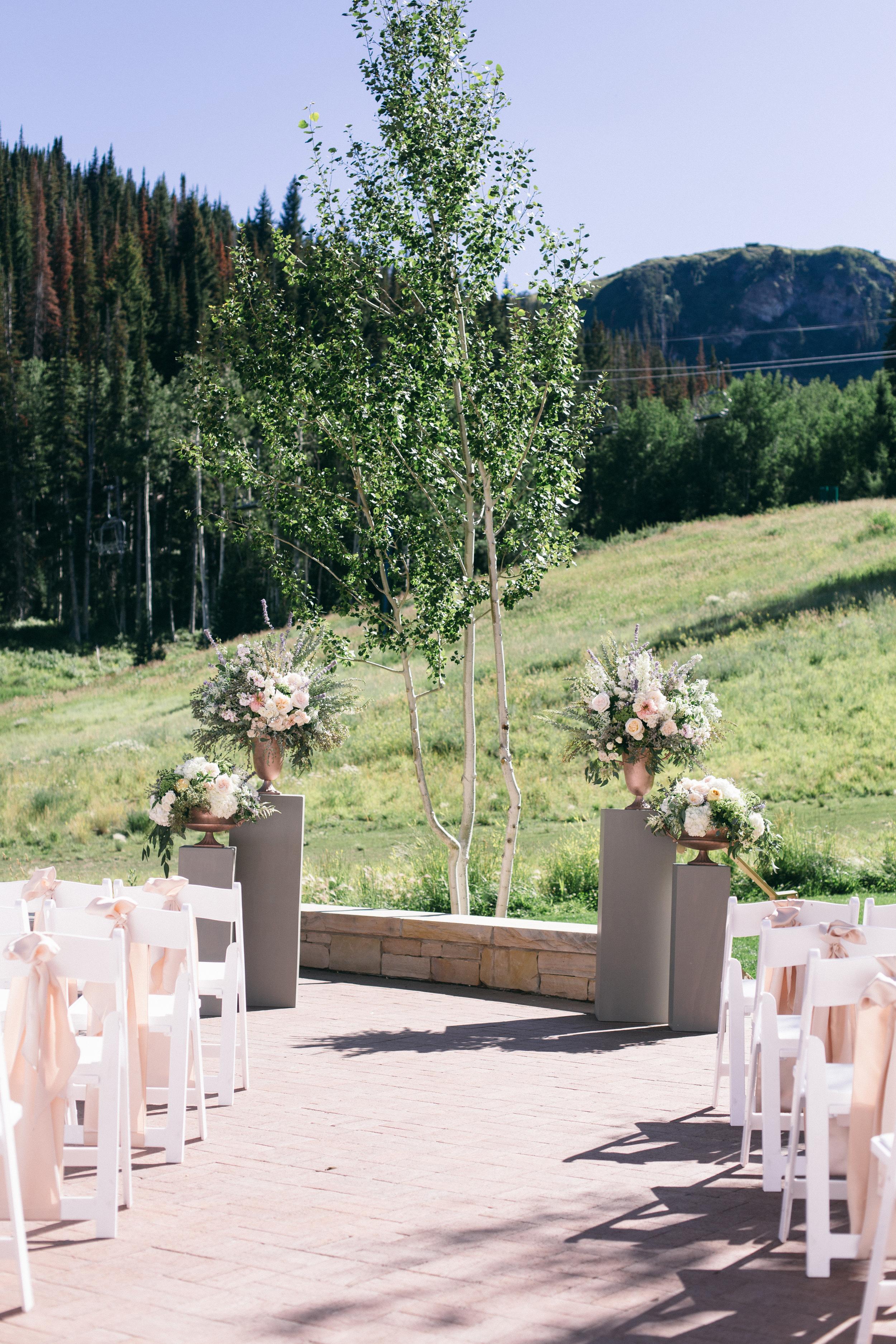 Montage Deer Valley Wedding | Romantic Summer Wedding | Michelle Leo Events | Utah Event Planner and Designer | Shannon Elizabeth Photography