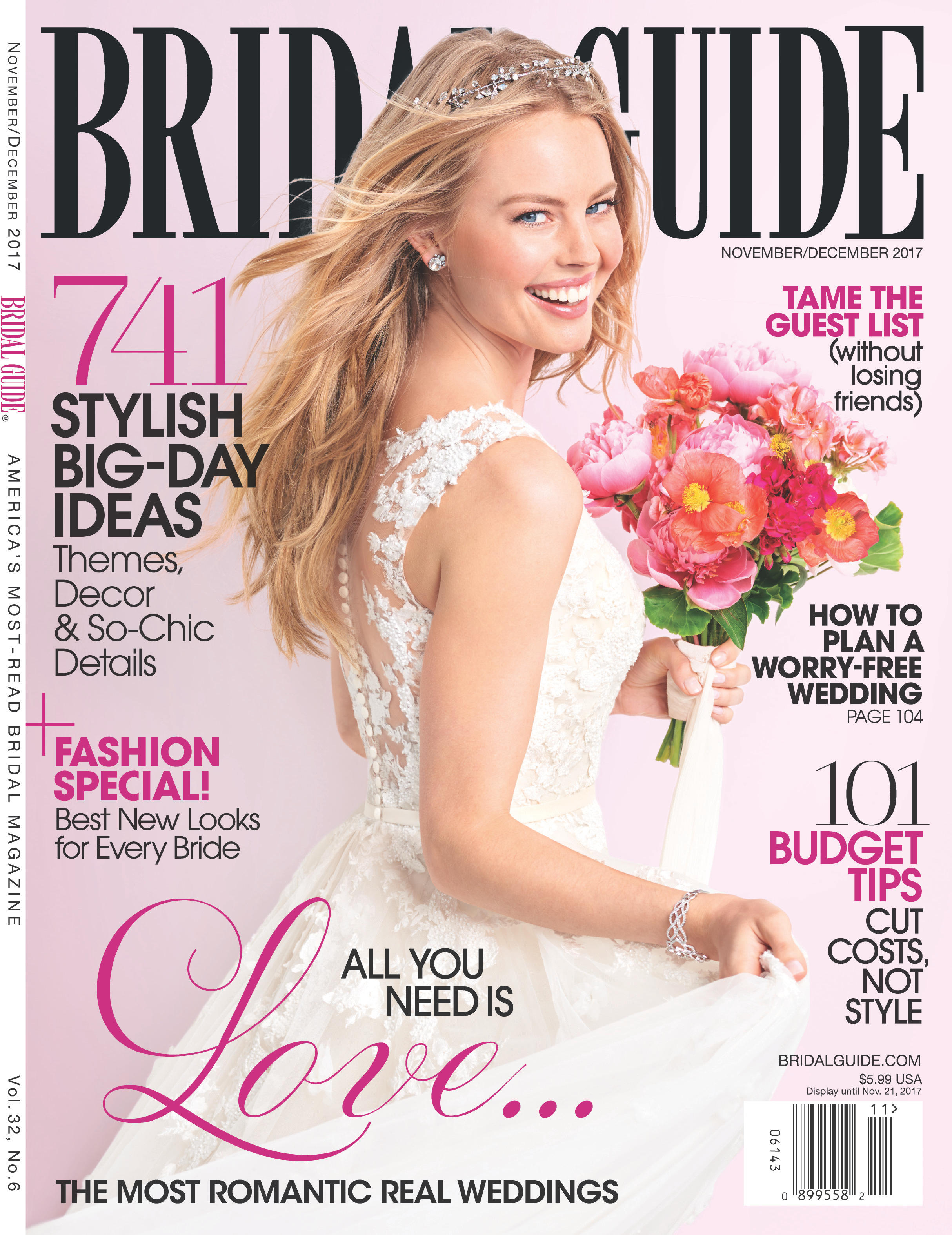MLE Featured in Bridal Guide Magazine | Winter Ranch Wedding | Fairytale Wedding | Michelle Leo Events | Utah Event Planner and Designer