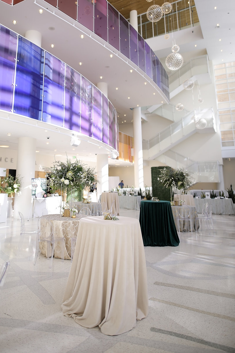 Utah Bride & Groom Magazine   UBG White Party   Eccles Theater   Emerald Green and Gold   Utah Wedding Professionals   Michelle Leo Events   Utah Event Planner and Designer   Pepper Nix Photography