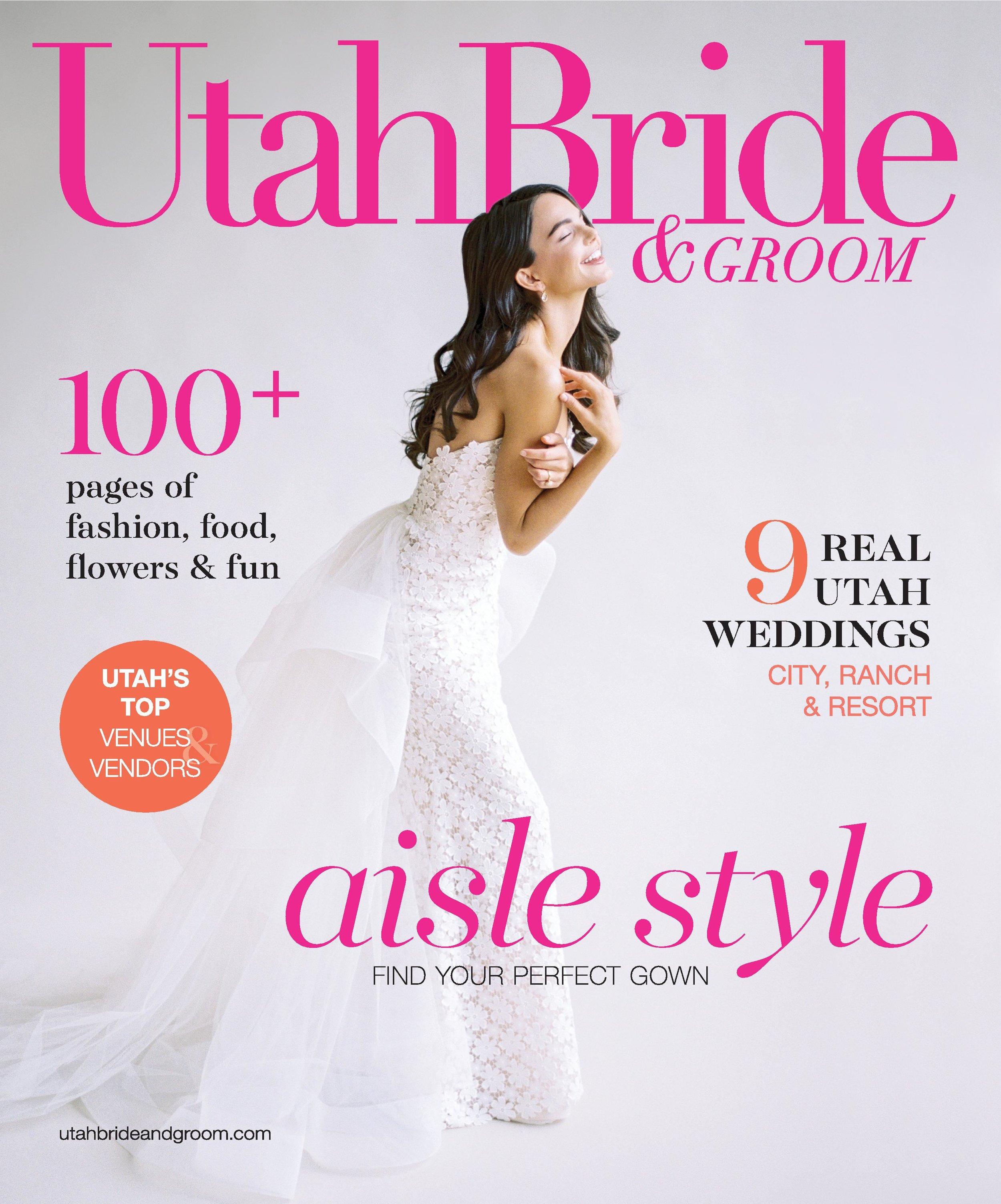 Utah Bride & Groom Magazine   UBG White Party   Eccles Theater   Emerald Green and Gold   Utah Wedding Professionals   Michelle Leo Events   Utah Event Planner and Designer